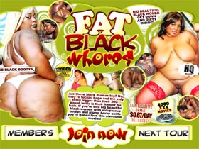 Welcome to Fat Black Whores! This site features movie collection of big beautiful black women posing nude!